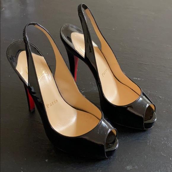 black red bottom heels